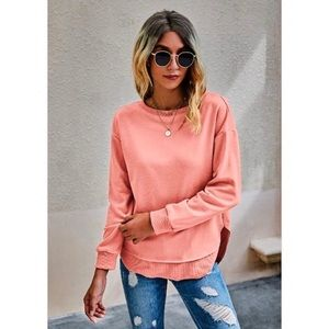 Kameakay Lollipop Pink Sweater